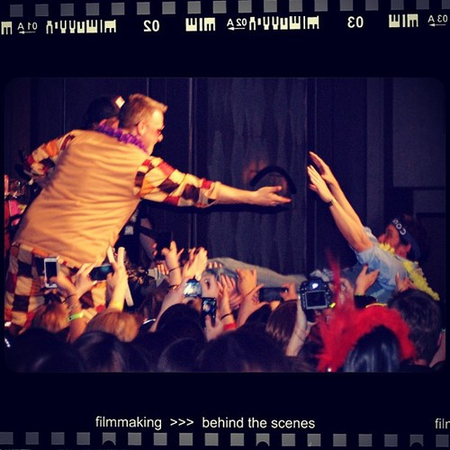 Rob Crowd Surfs - photo credit Gippywhite