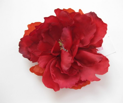Red Peony - Unmodified
