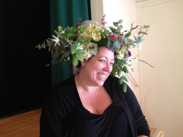 Mucha Headdress Workshop, June 2013 - Tonda
