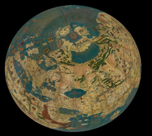 55 глобусов 15-19 веков оцифрованы в 3D варианте