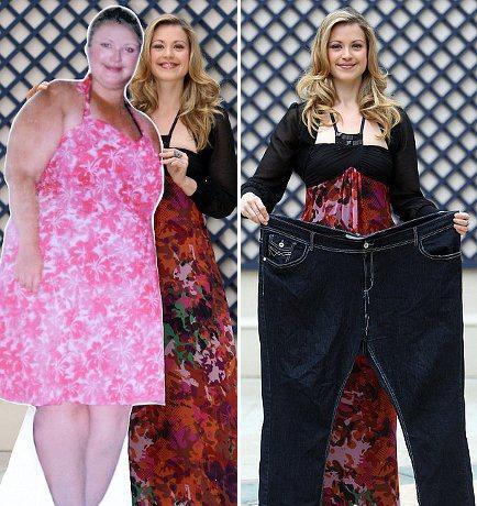 похудевшие женщины фото до и после российские