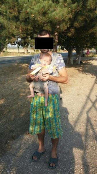 Вот так выглядит ребенок сыроедов! Куда смотрит Астахов?