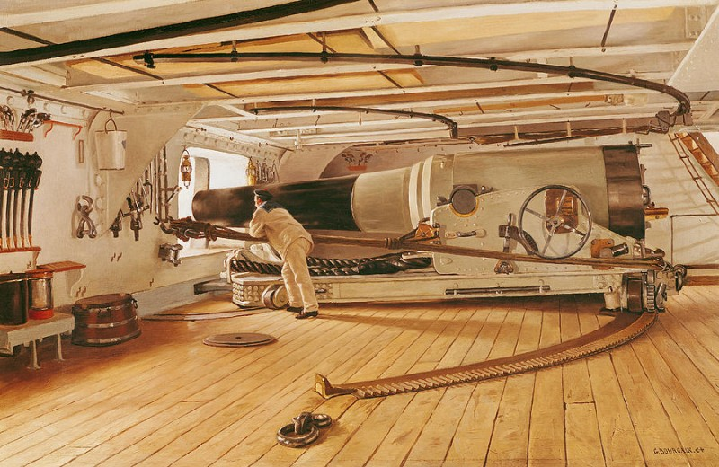 000_twenty-seven-pound-cannon-on-a-battleship-gustave-bourgain