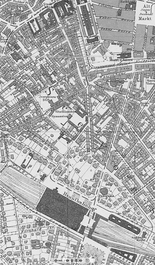 DresdenHauptbahnhofStadtplan1900