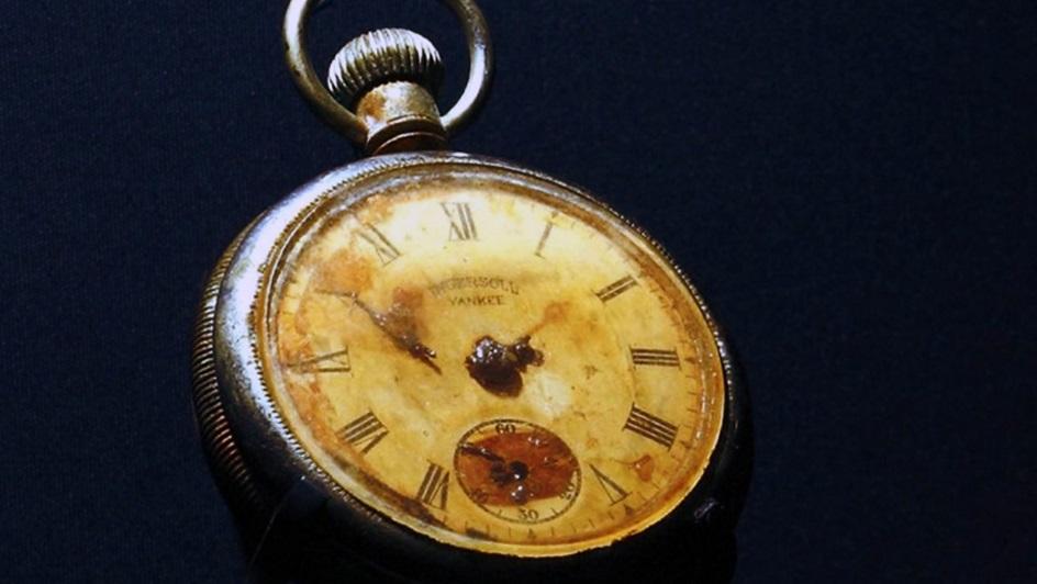 Карманные часы героя с ''Титаника''