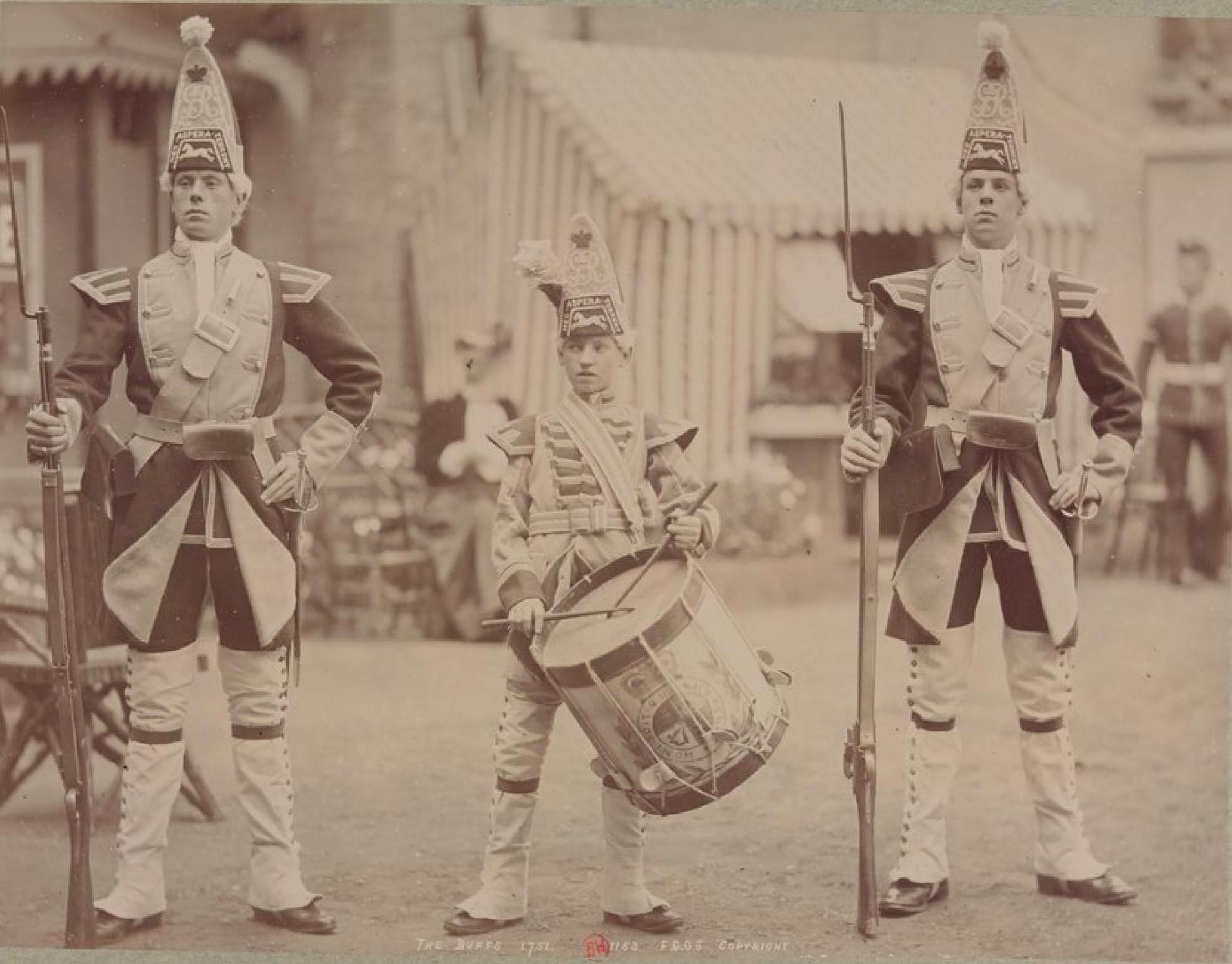 Баффы 1751 (Королевский Восточный Кентский полк), ранее 3-й полк пехоты