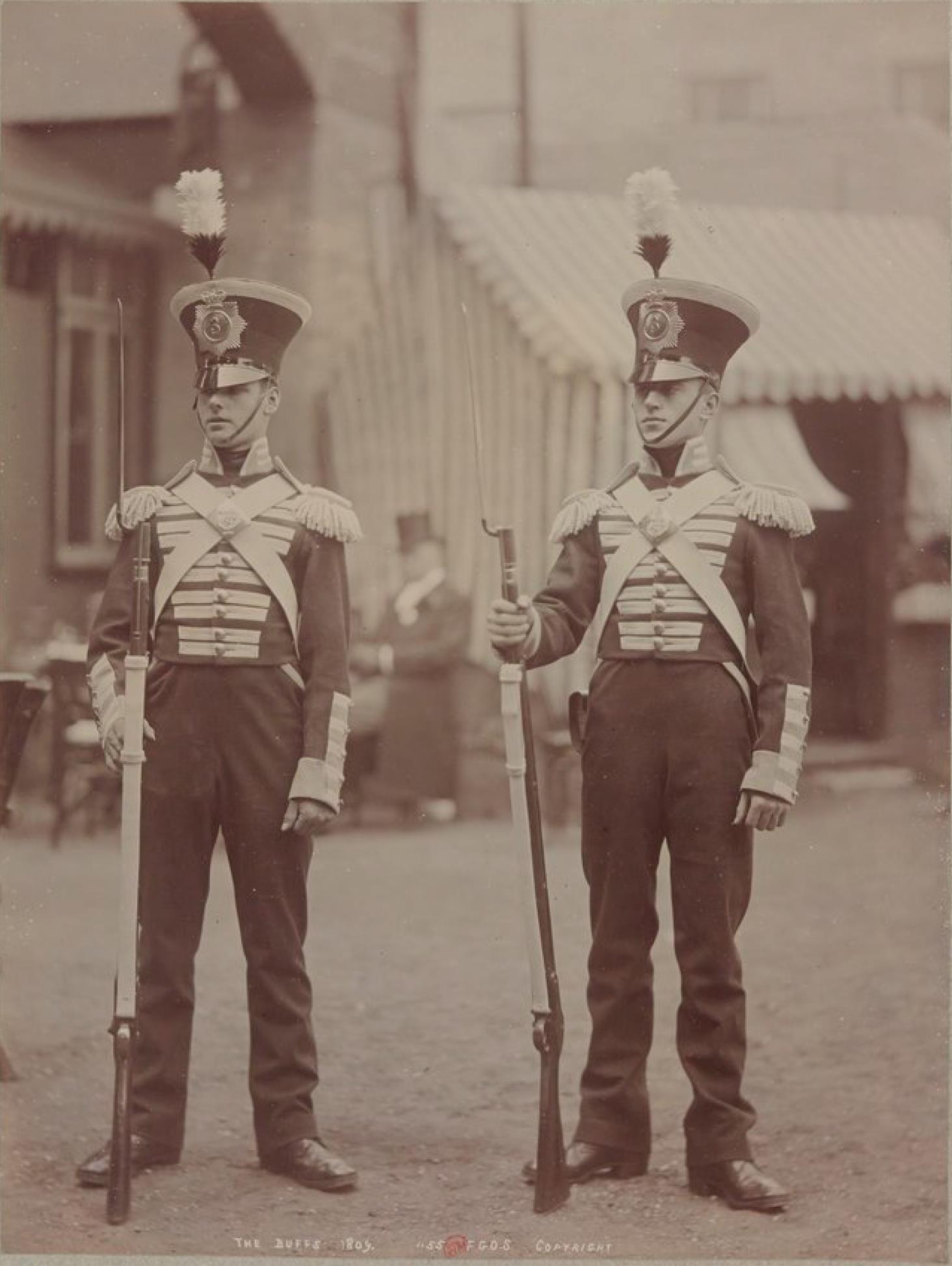 Баффы 1809(Королевский Восточный Кентский полк), ранее 3-й полк пехоты