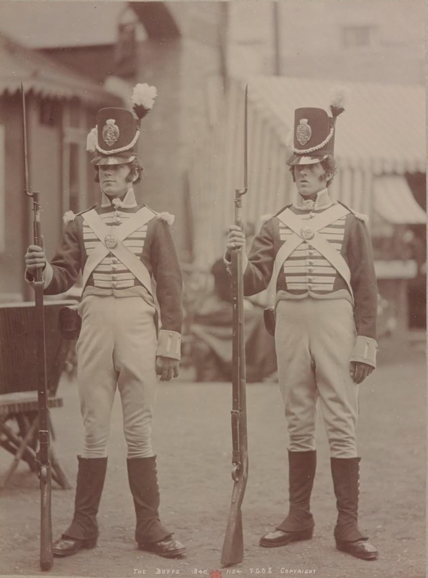 Баффы 1841 (Королевский Восточный Кентский полк), ранее 3-й полк пехоты