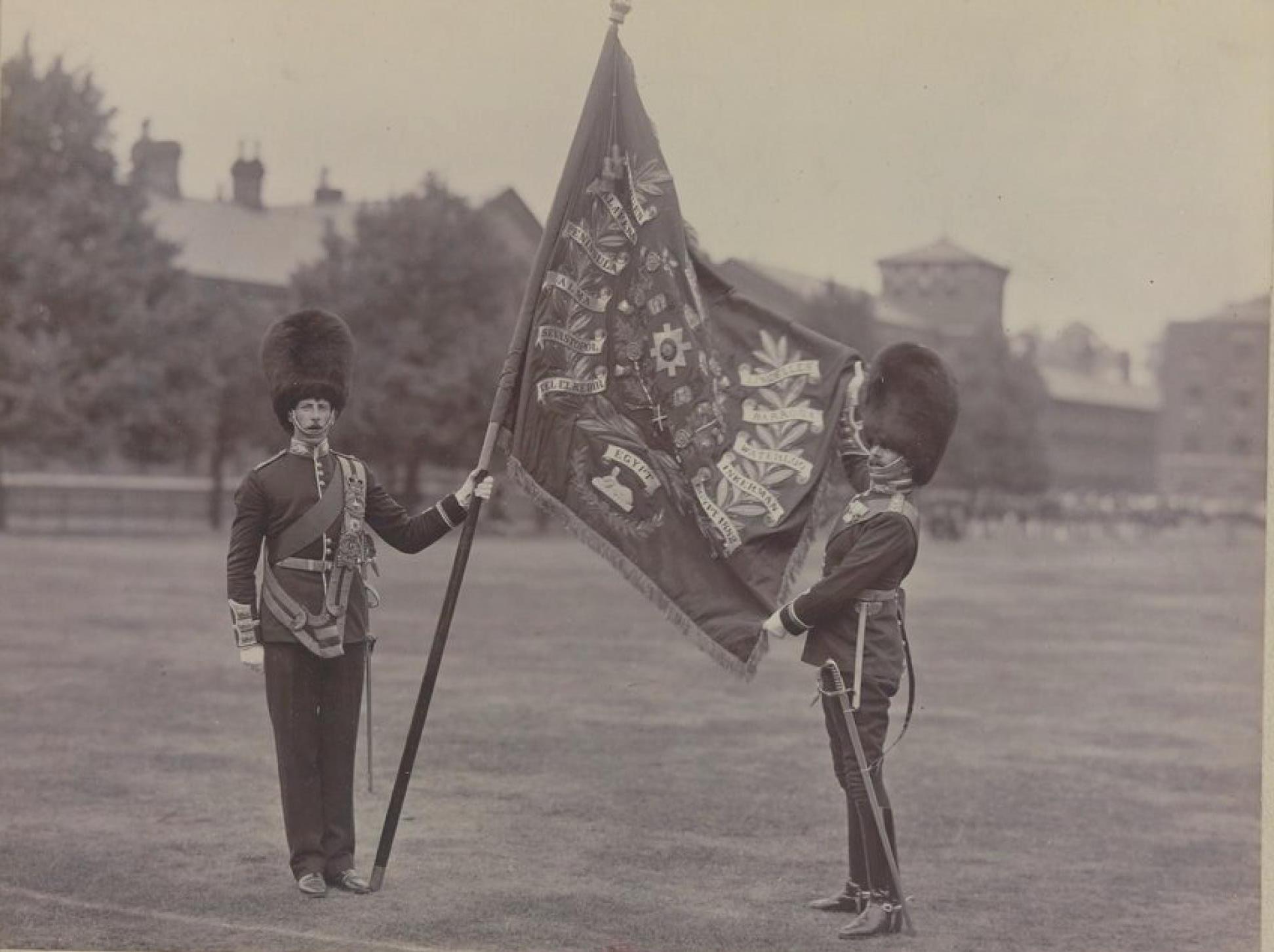 Знамя Колдстримского пехотного гвардейского полка Её Величества