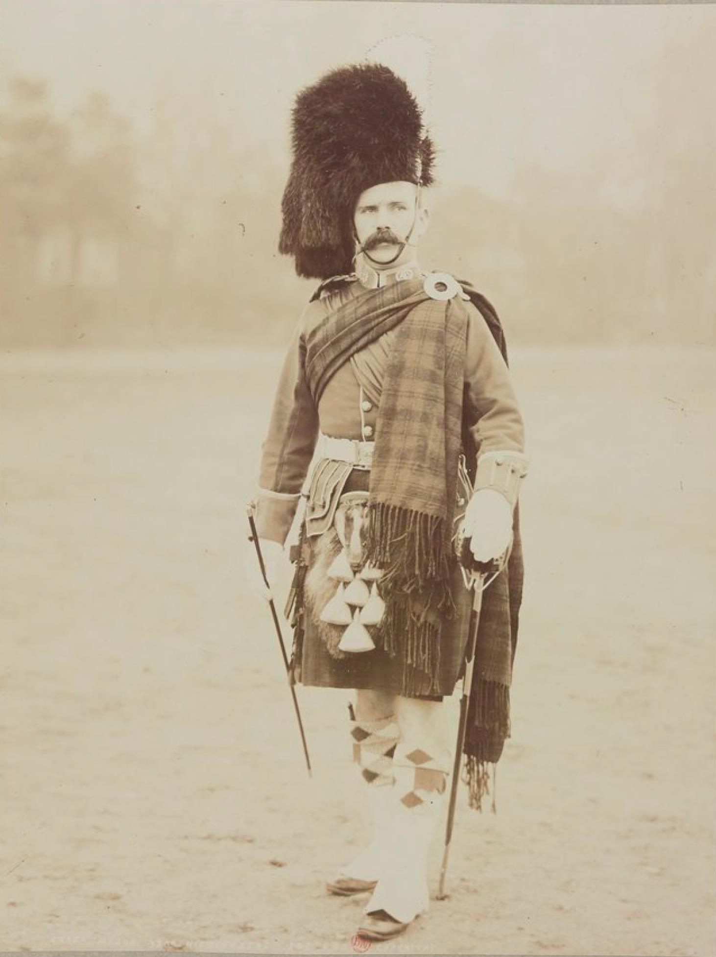 Сержант-майор 93-го горского полка