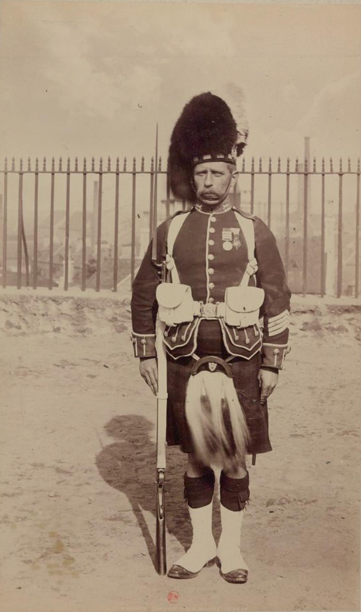 Рядовой Гордонского хайлендерского полка