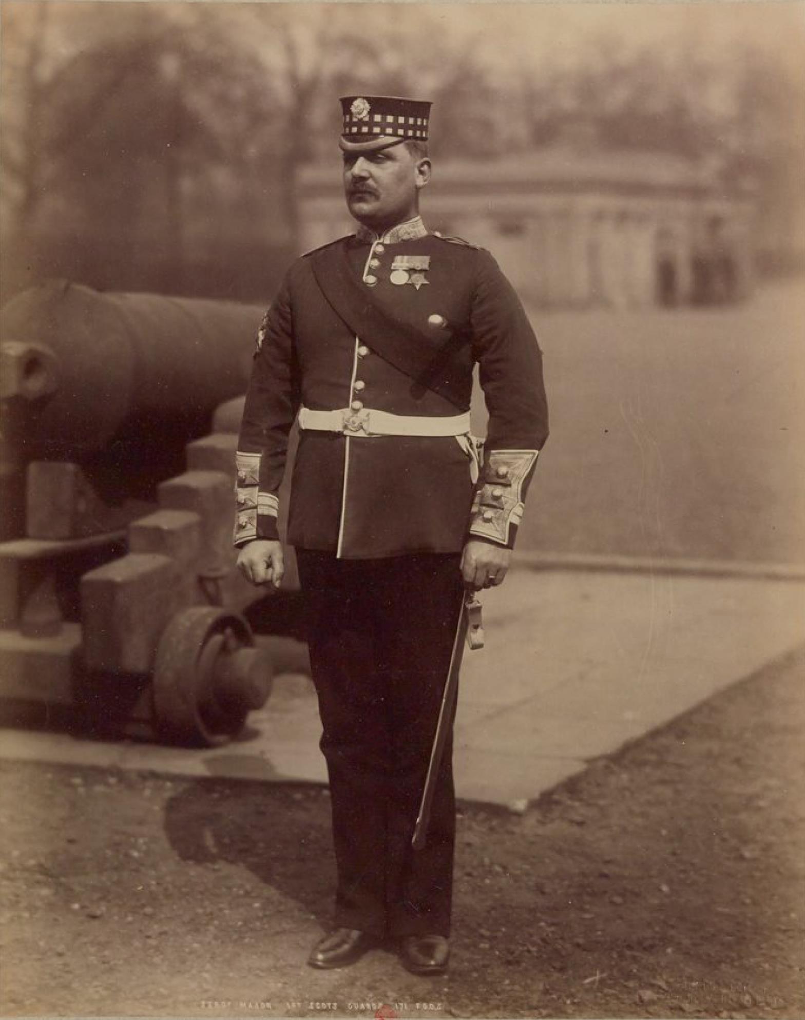 Сержант-майор. Хайлендерский гвардейский полк