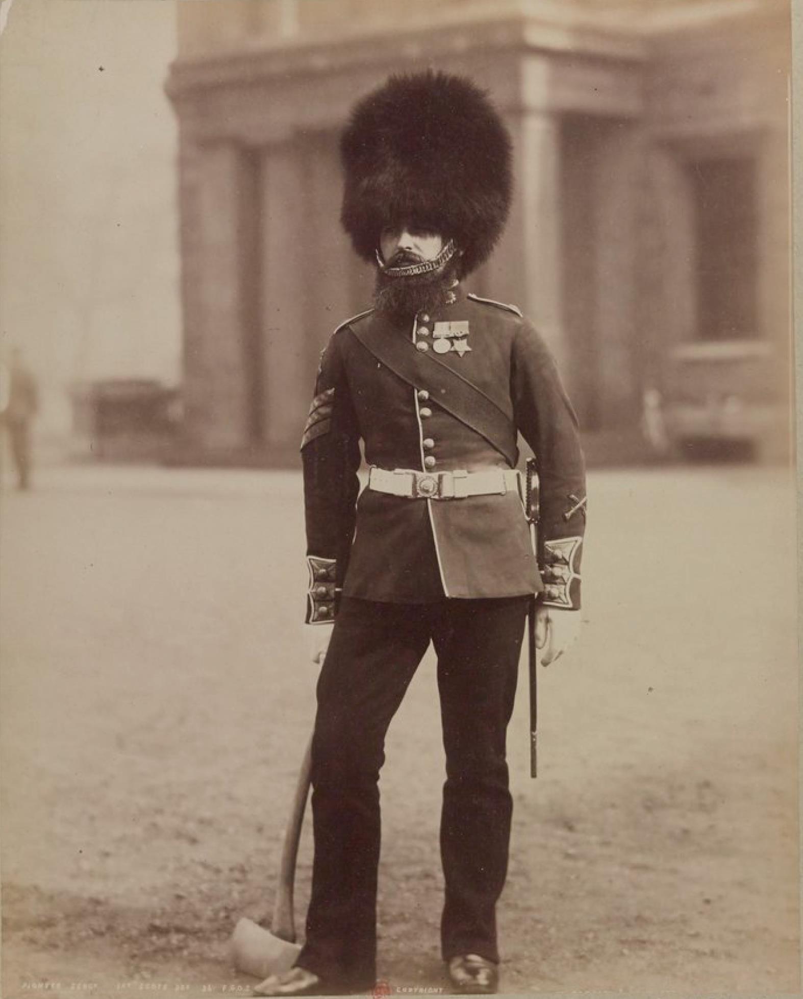 Сержант-сапёр. Хайлендерский гвардейский полк