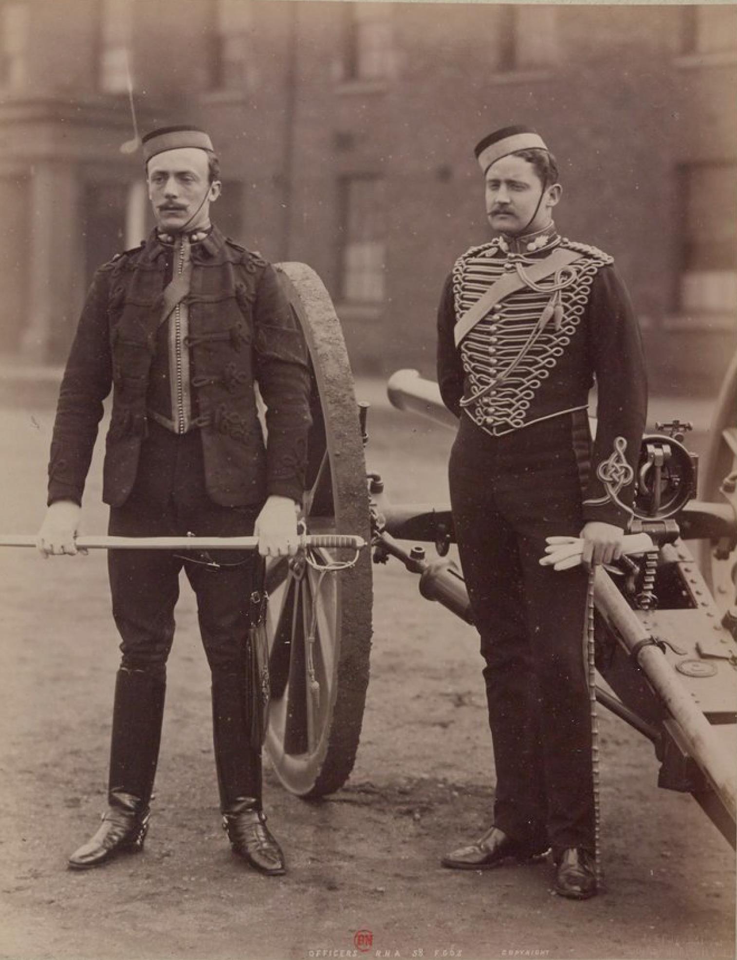 Офицеры конной артиллерии