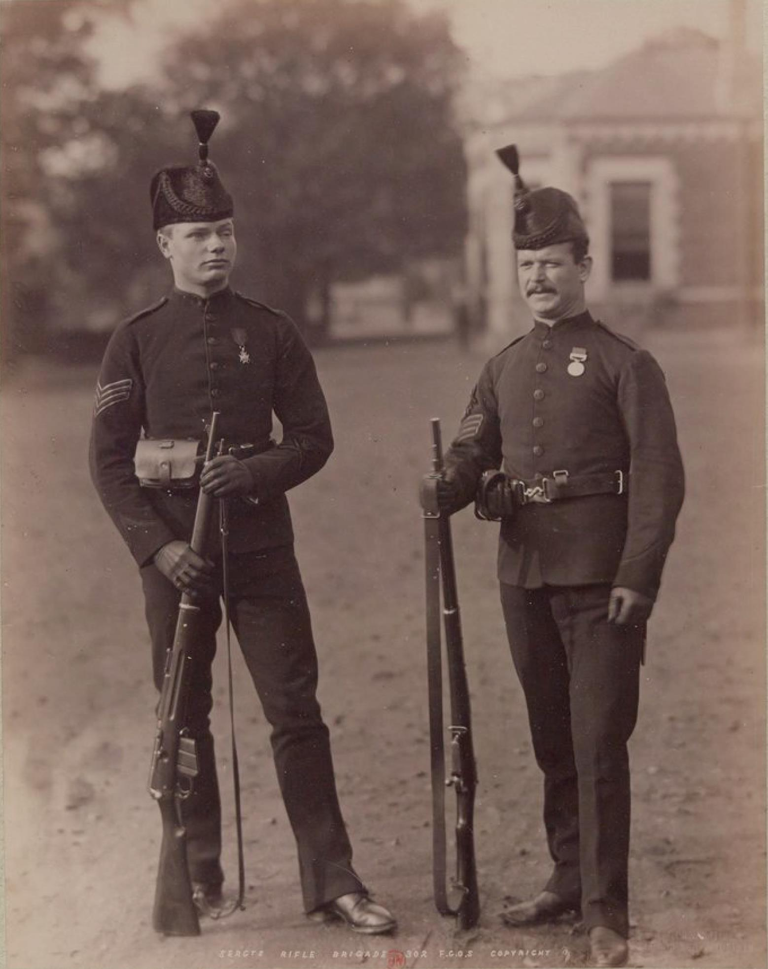 Сержанты стрелковой бригады