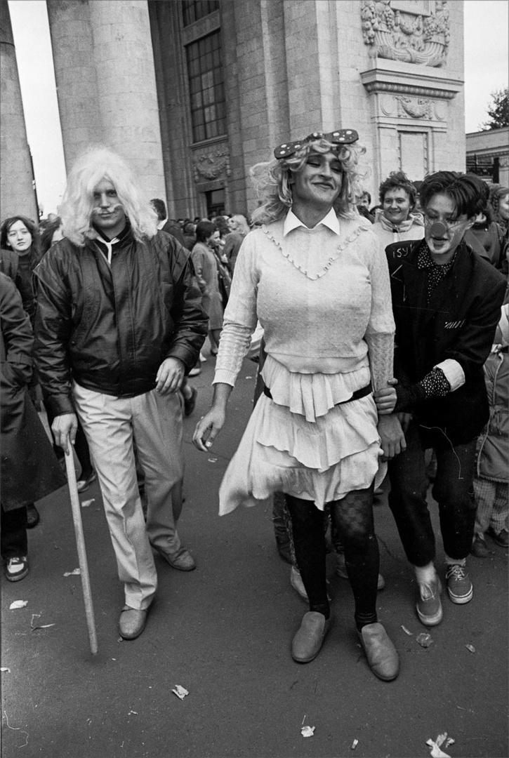 1986. День Смеха в Парке Горького. 1 апреля