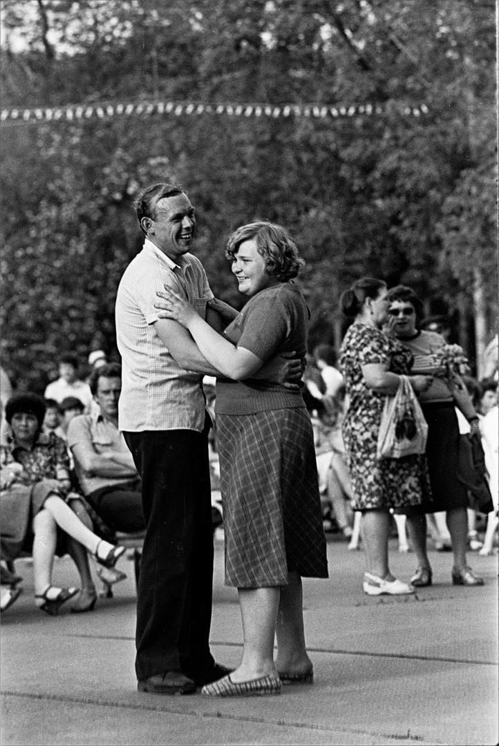1987. Танцплощадка в Парке Горького. 22 августа