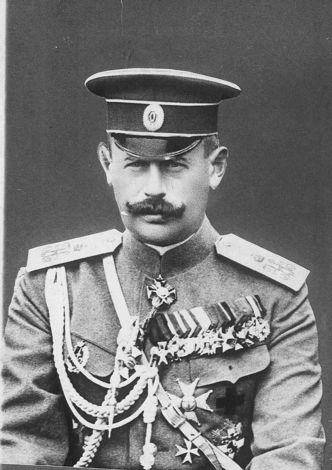 1913. Генерал-майор, адъютант его величества, командир Гусарского полка Владимир Николаевич Воейков