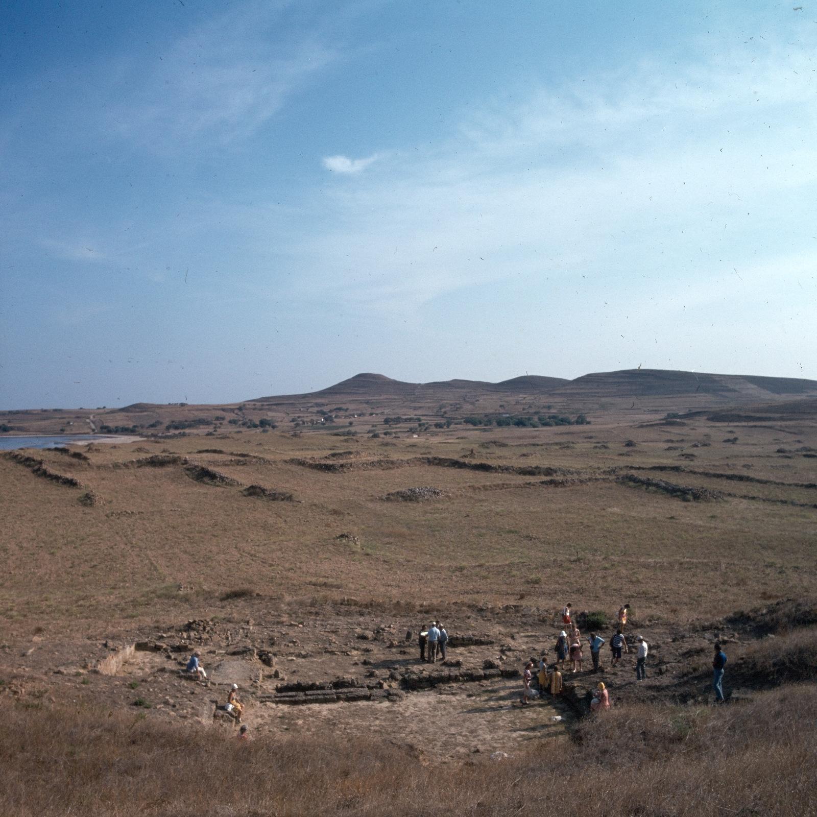 В древнем городе Гефестия на севере