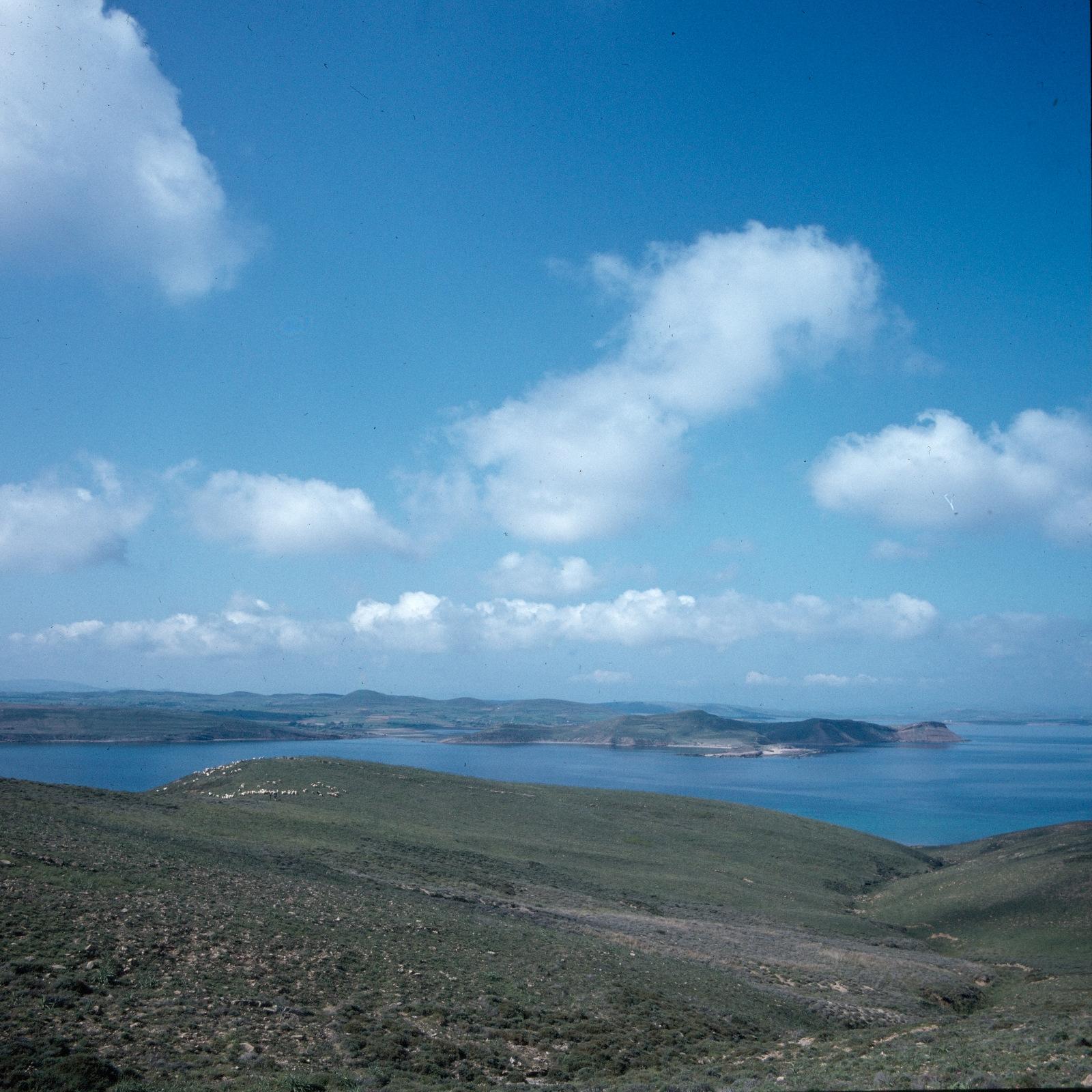 Вид местности, где лежала древняя Гефестия