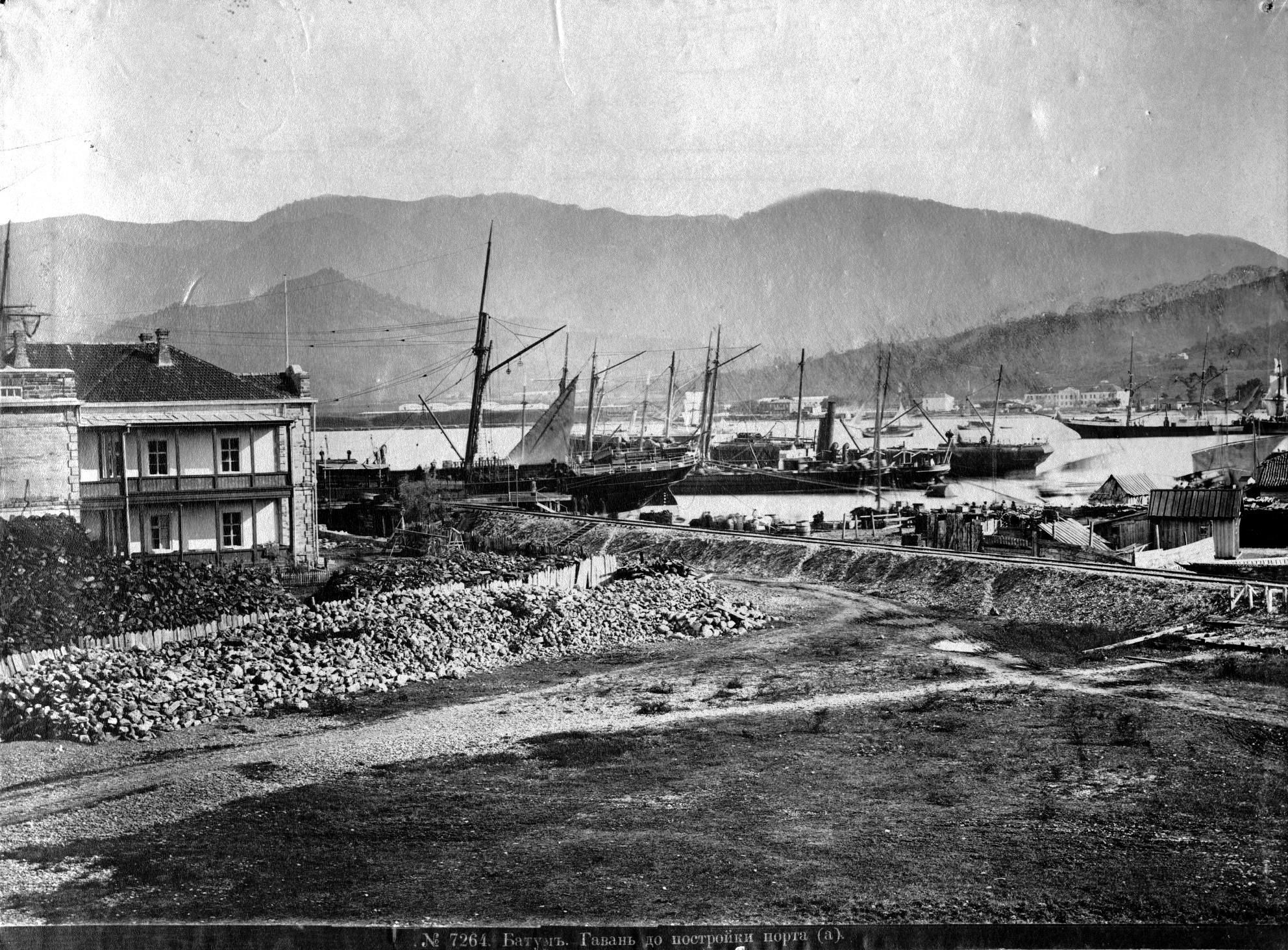 Гаванъ до постройки порта