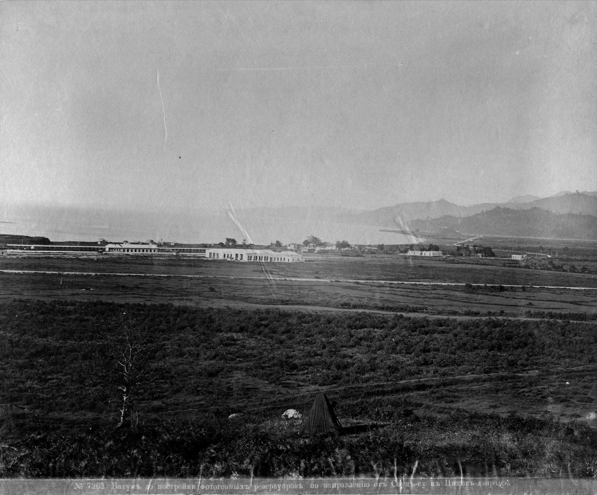 До постройки фотогенных резервуаров по направлению от Соук-су к Цихис-дзири