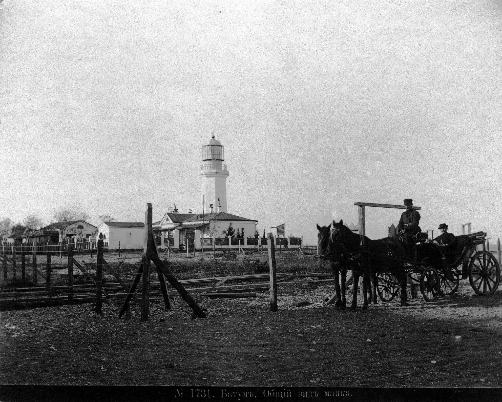 Общий вид маяка