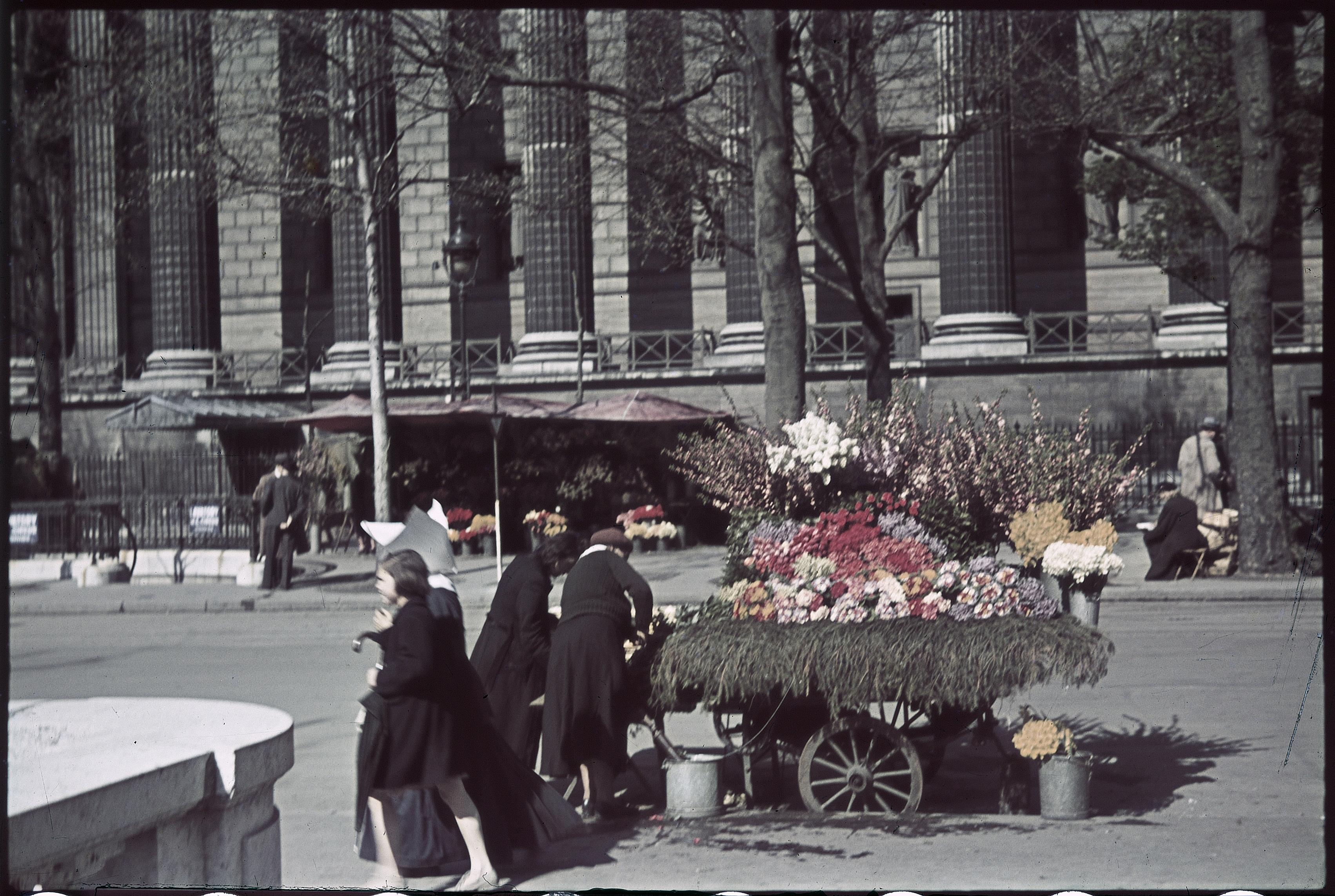 На площади Мадлен