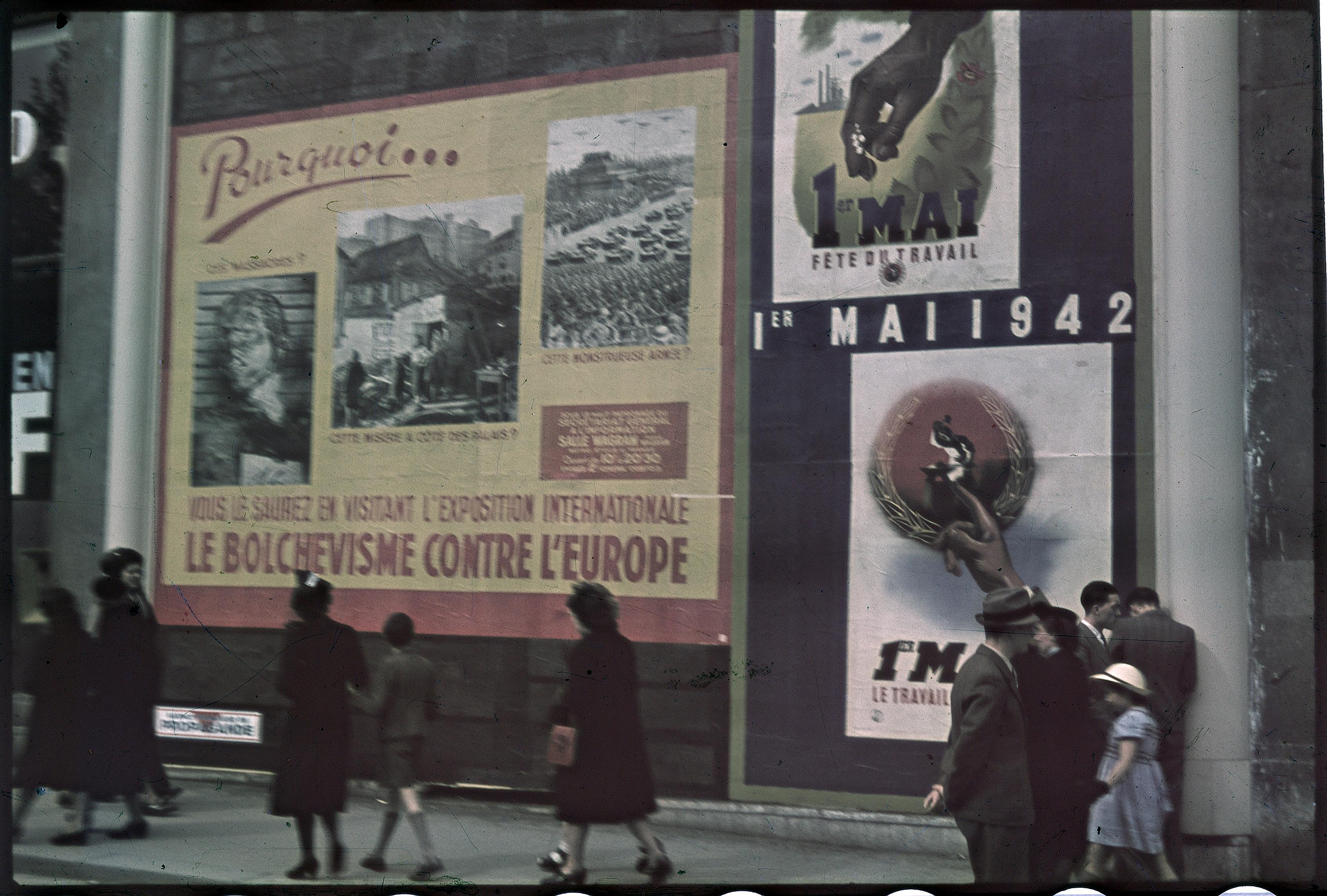 Плакат «Почему вы должны посетить международную выставку «Большевизм против Европы»