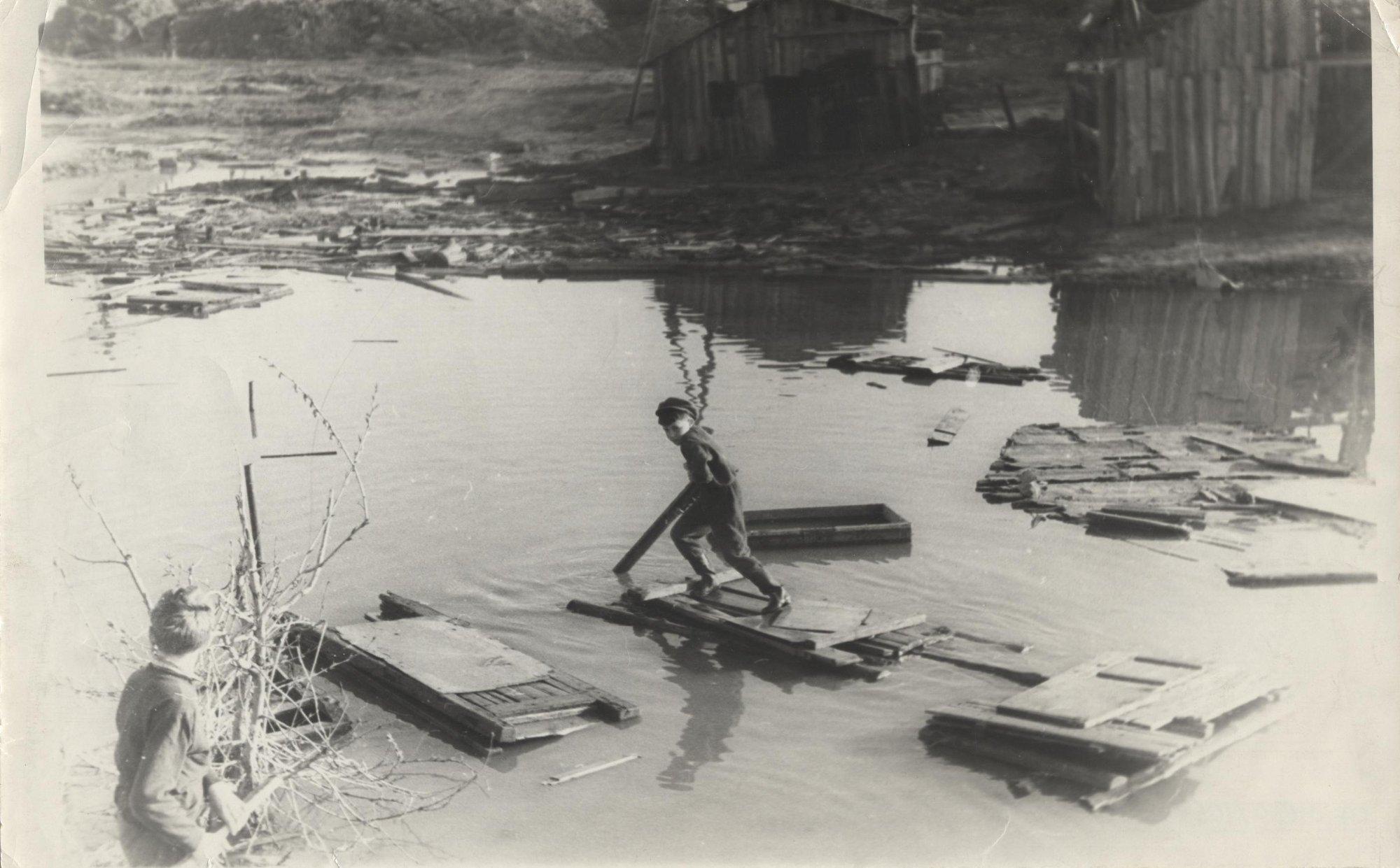 1964. Черёмушки, весна