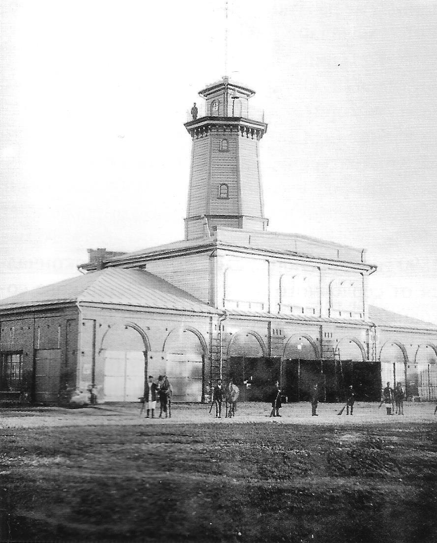 Осташковская пожарная каланча. 1893