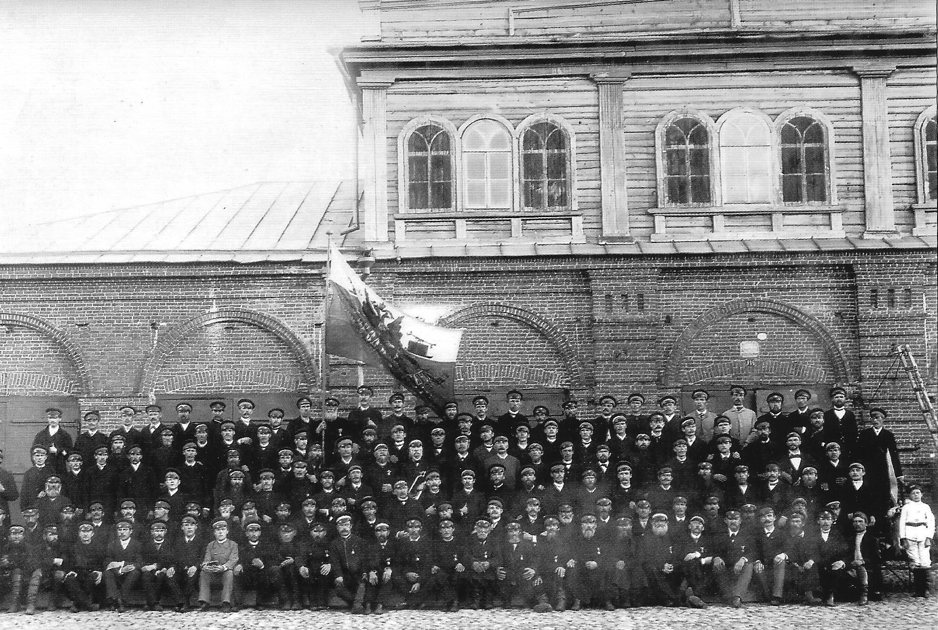 Осташковская пожарная команда. 1893