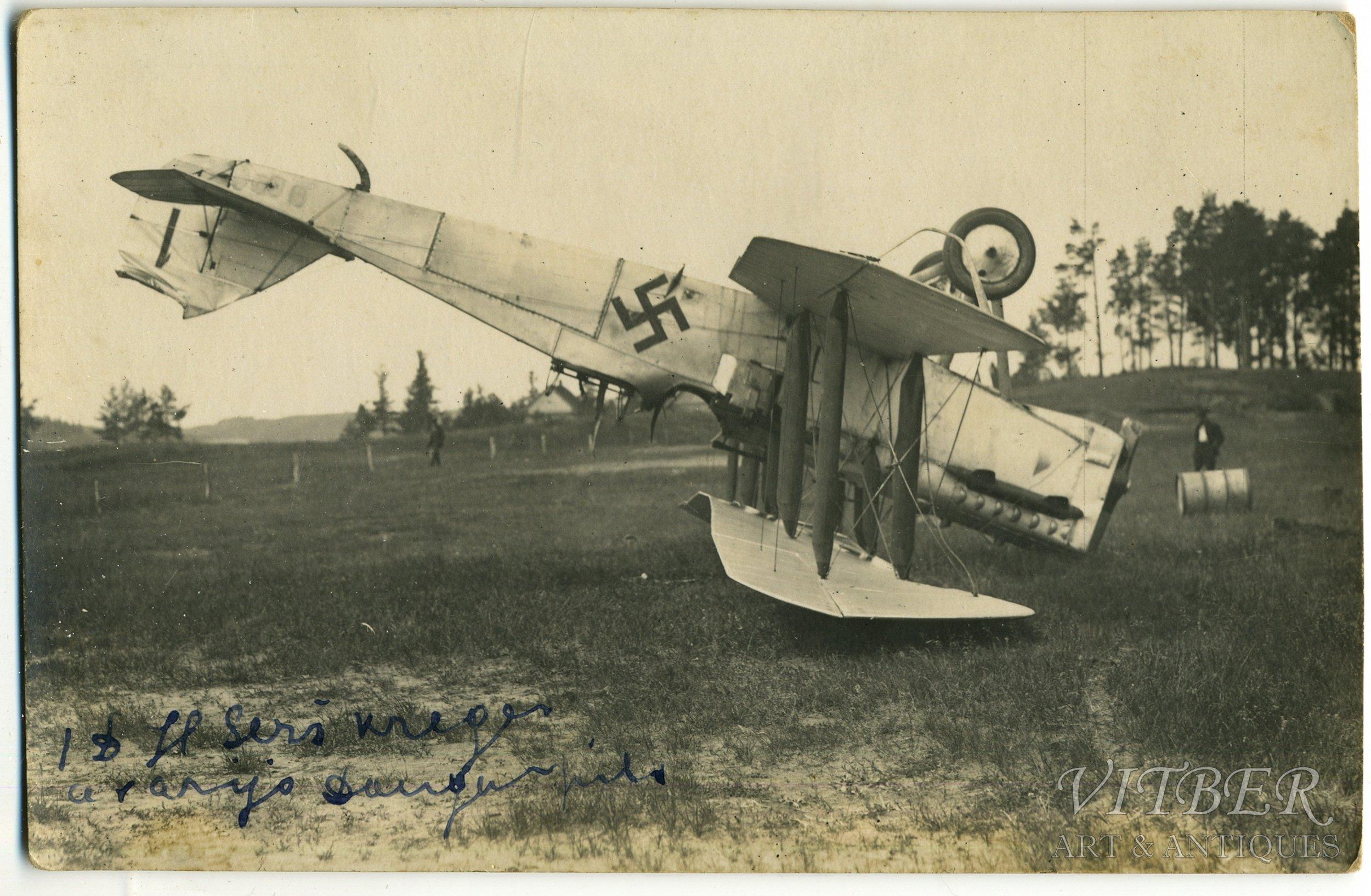 1930-е. Латвийский авиационный дивизион 18