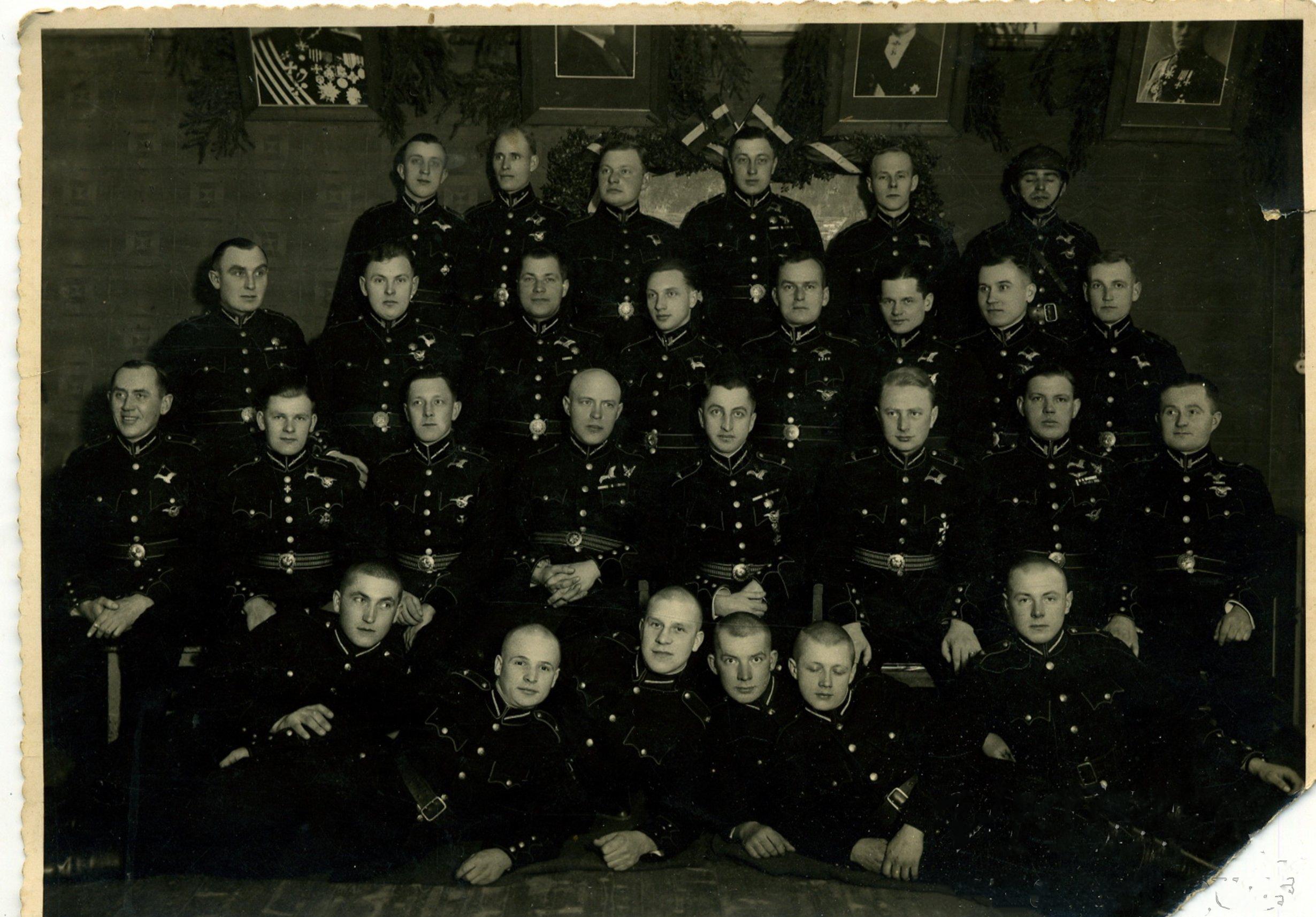 1930-е. Латвийский авиационный дивизион 23