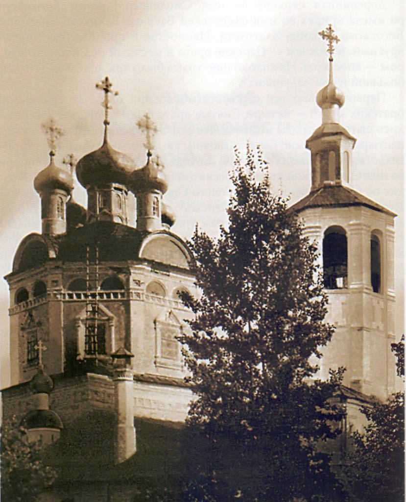 Житенный Смоленский монастырь. Собор Смоленской иконы Божией Матери