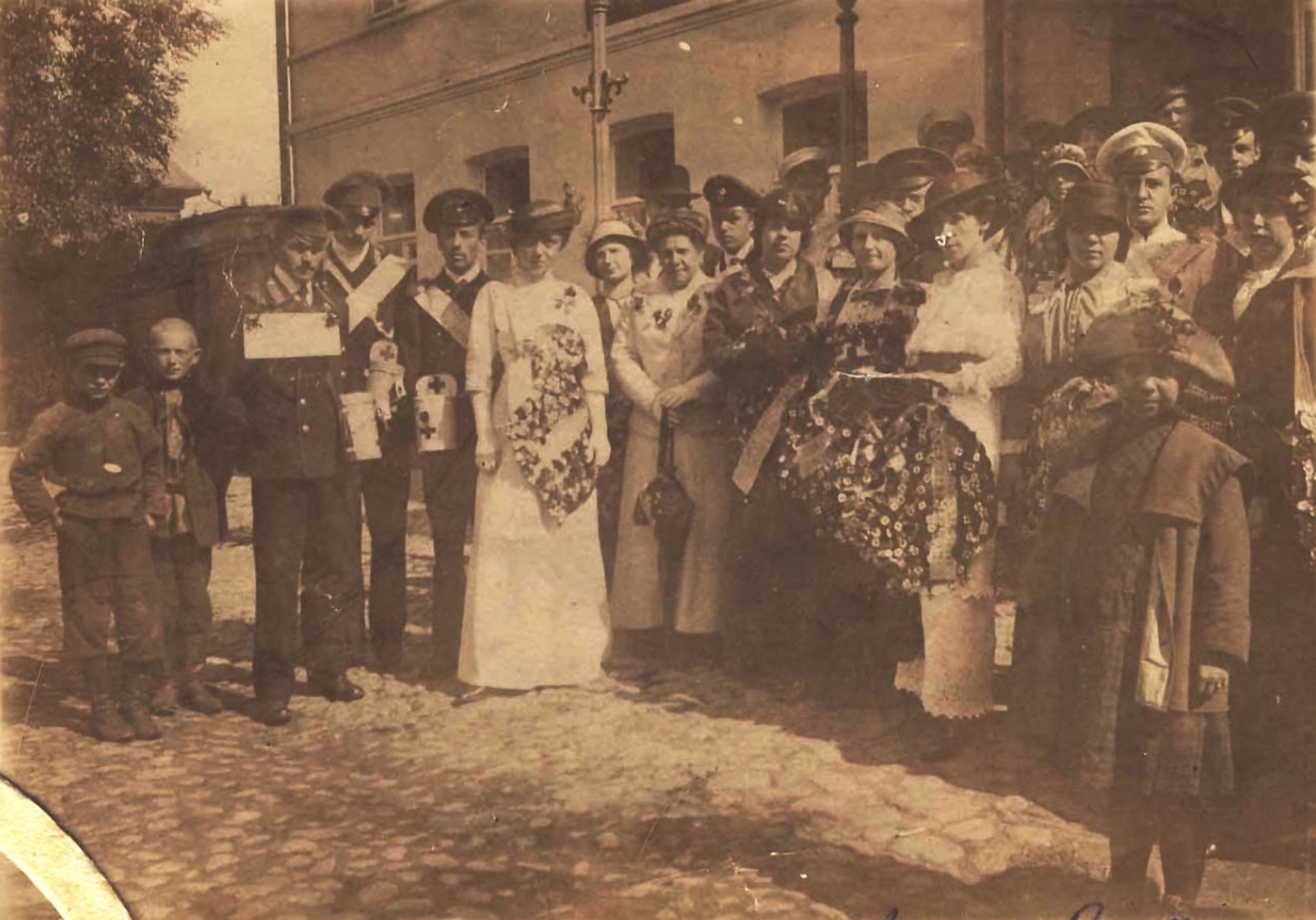 Сбор средств на помощь жертвам Первой мировой войны