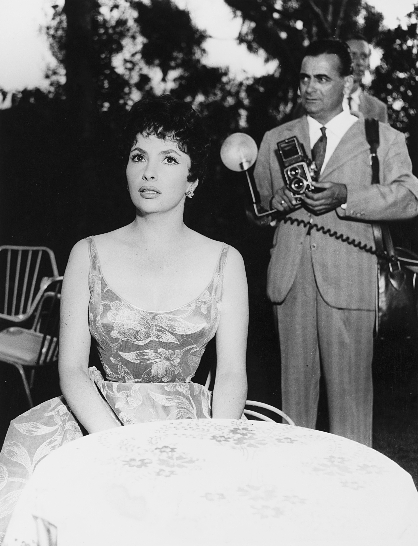 1957. Джина Лоллобриджида и Сандро Веспасиани