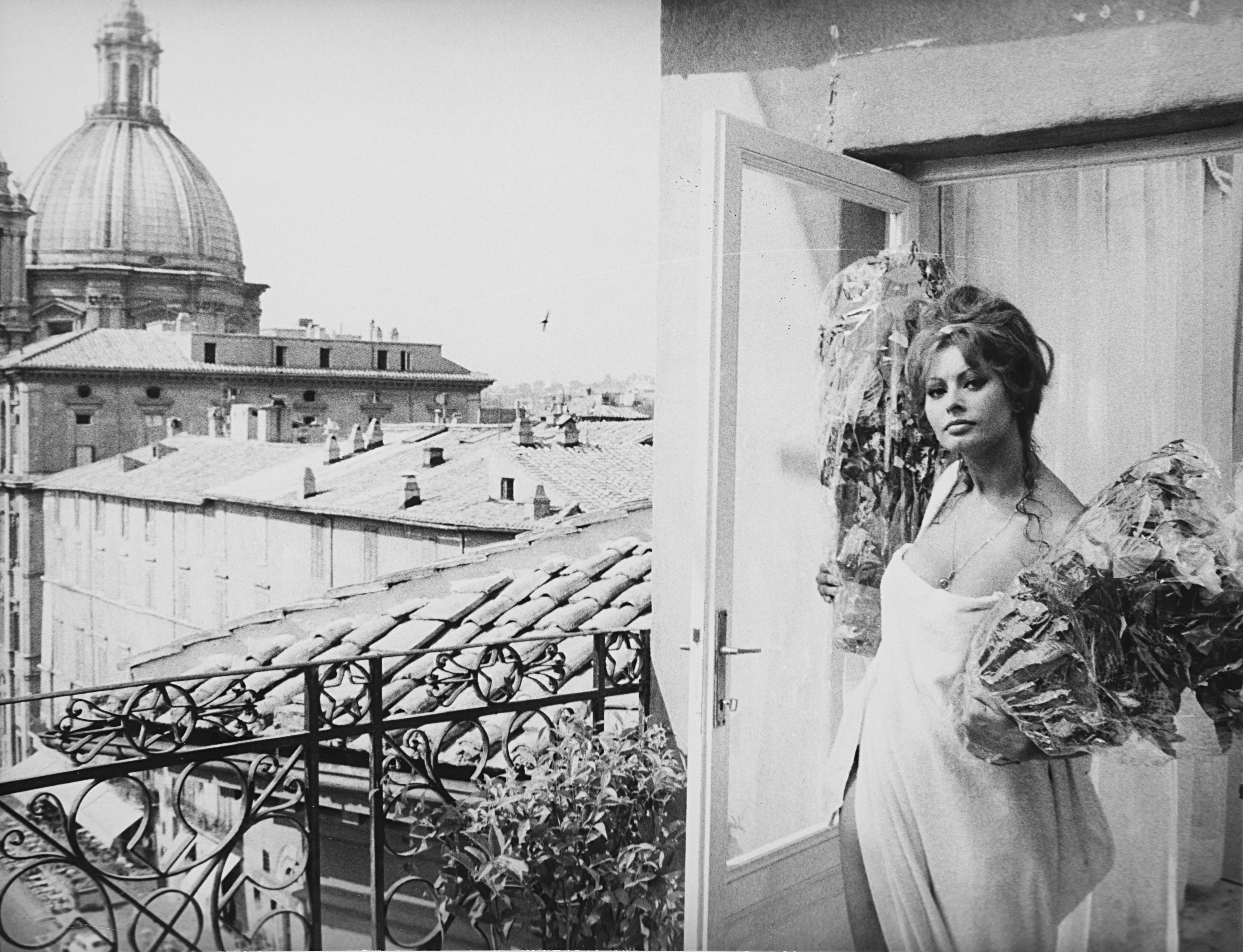 1960. Софи Лорен. Рим