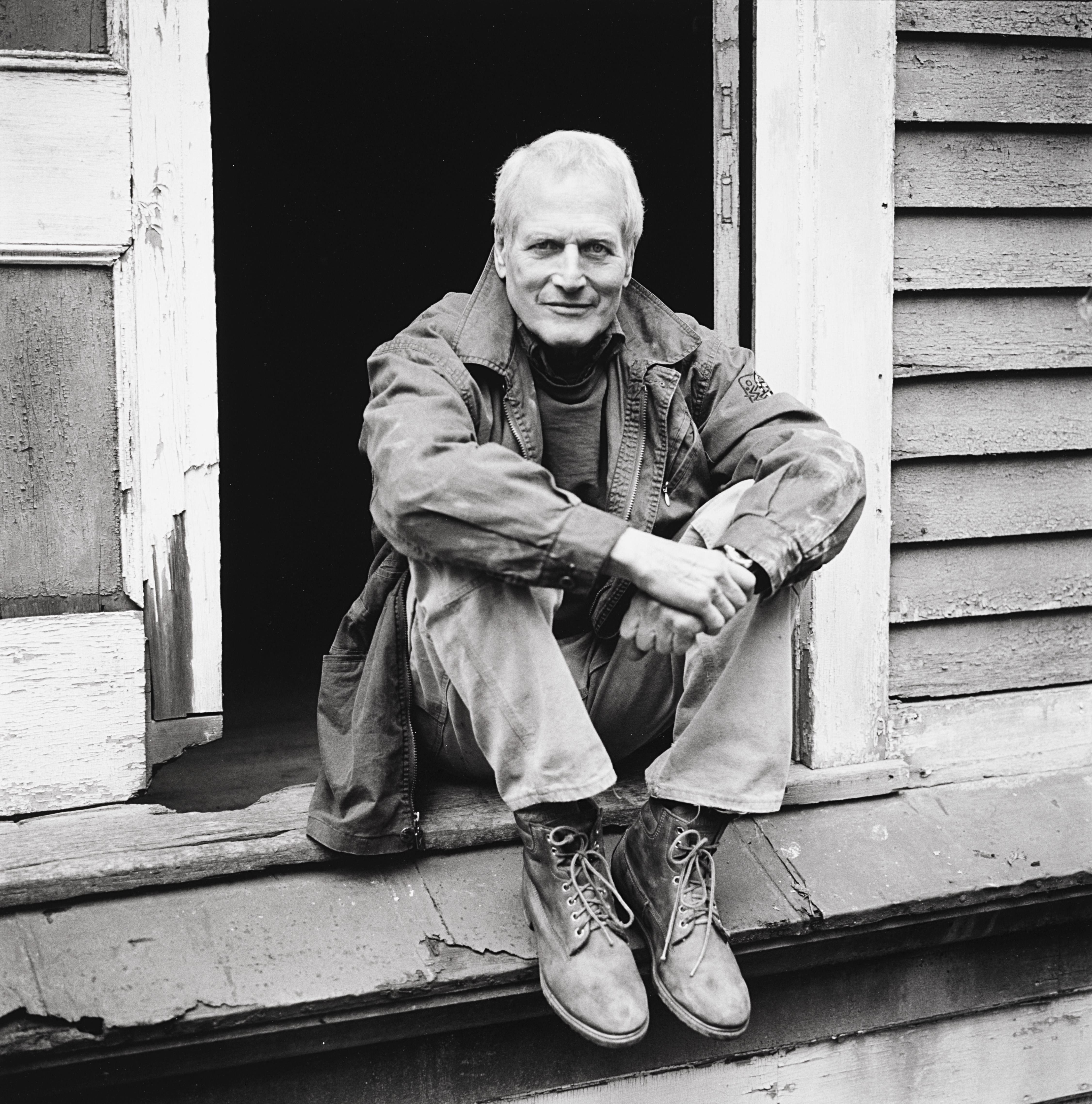 1990. Пол Ньюман. Нью-Йорк