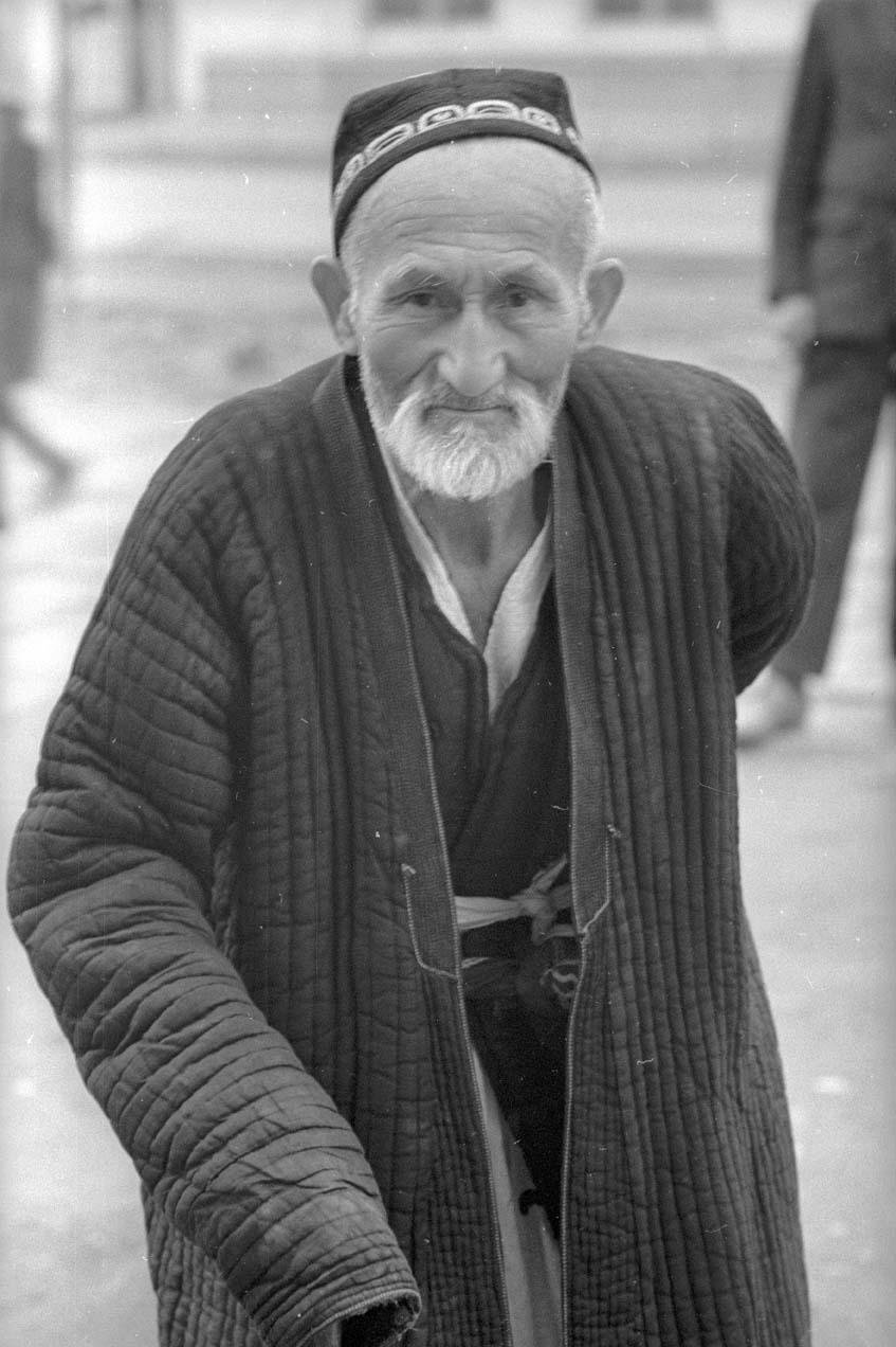 1970.  Рамадан. Старик. Ташкент