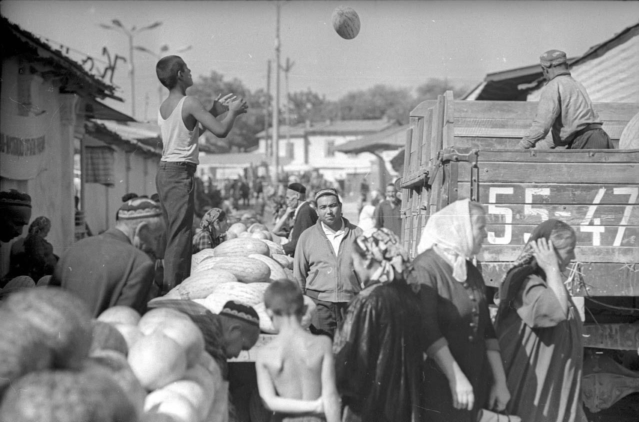 1970. Базар. Ташкент