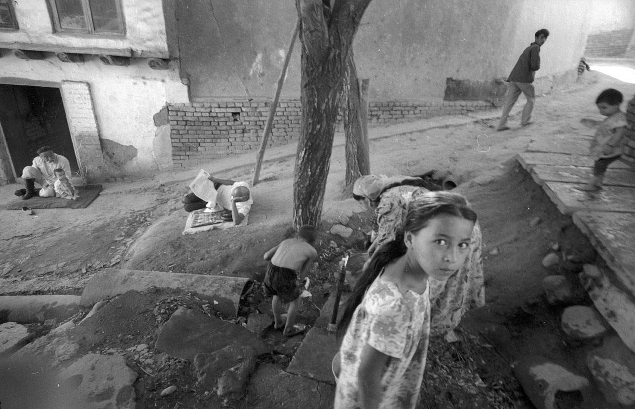 1970. Улица в старом городе. Ташкент