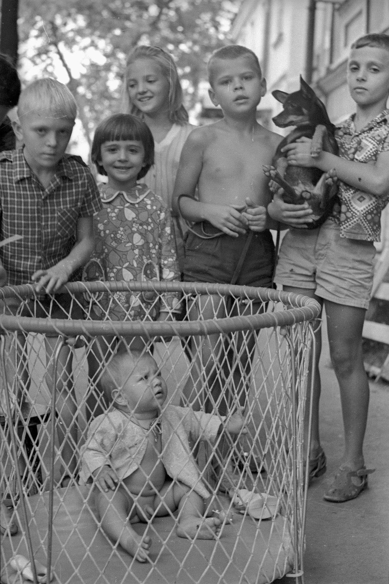 1970-е. Дети