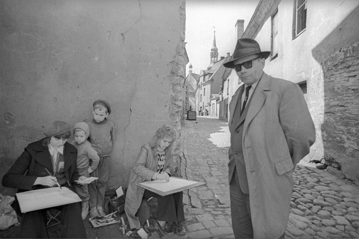 1970-е. Уроки рисования. Таллин