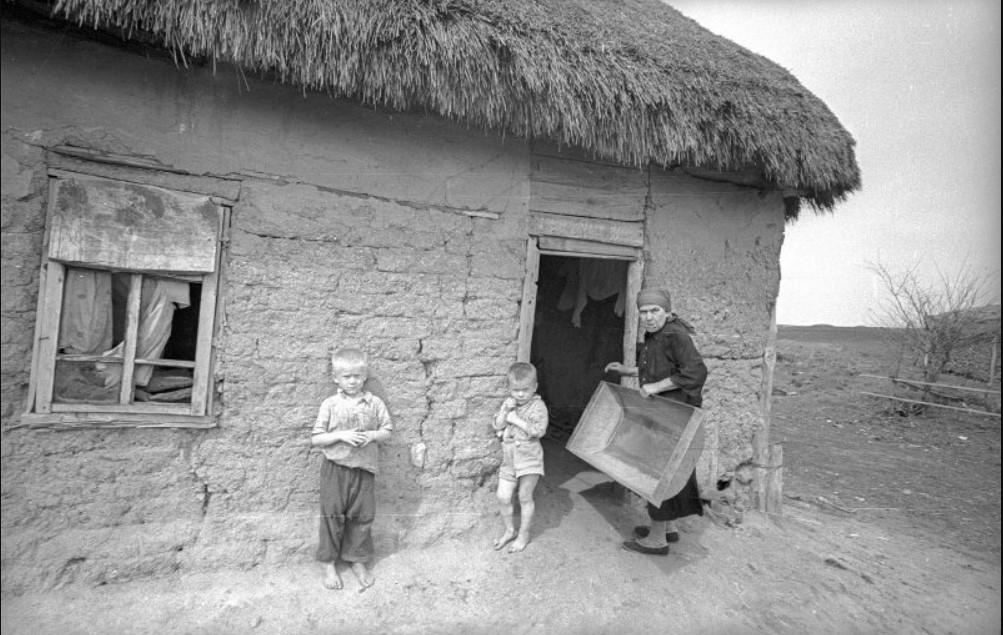 1970-е.«Хибара. Из серии «Деревня»