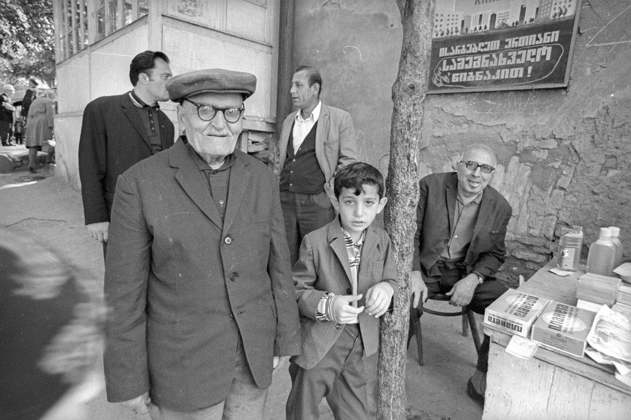 1980-е. Улица где-то в Грузии