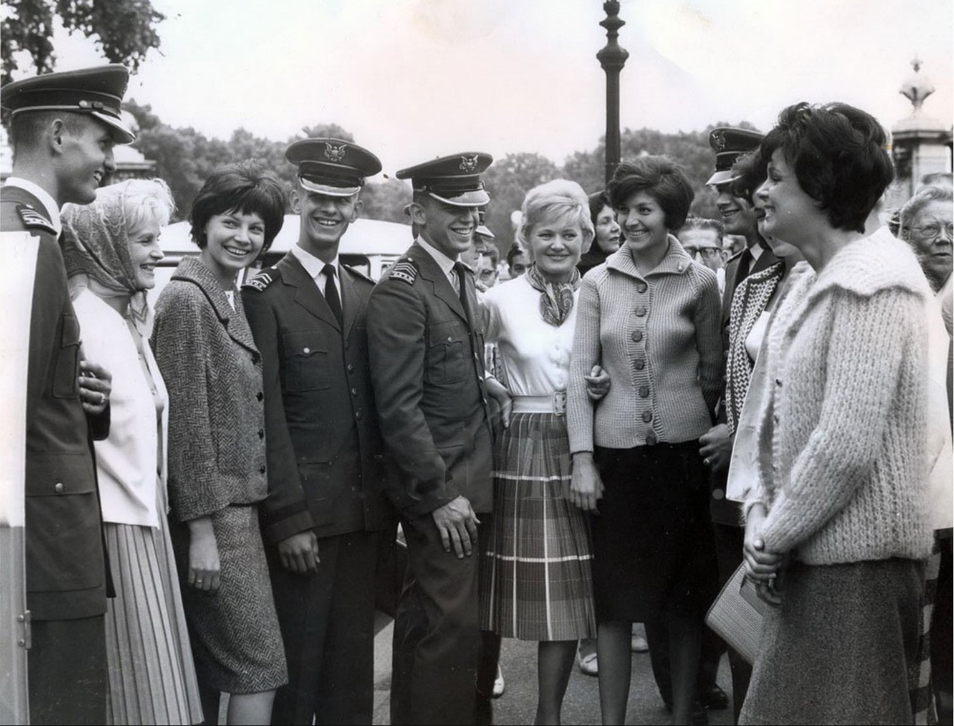 Советские манекенщицы в Лондоне