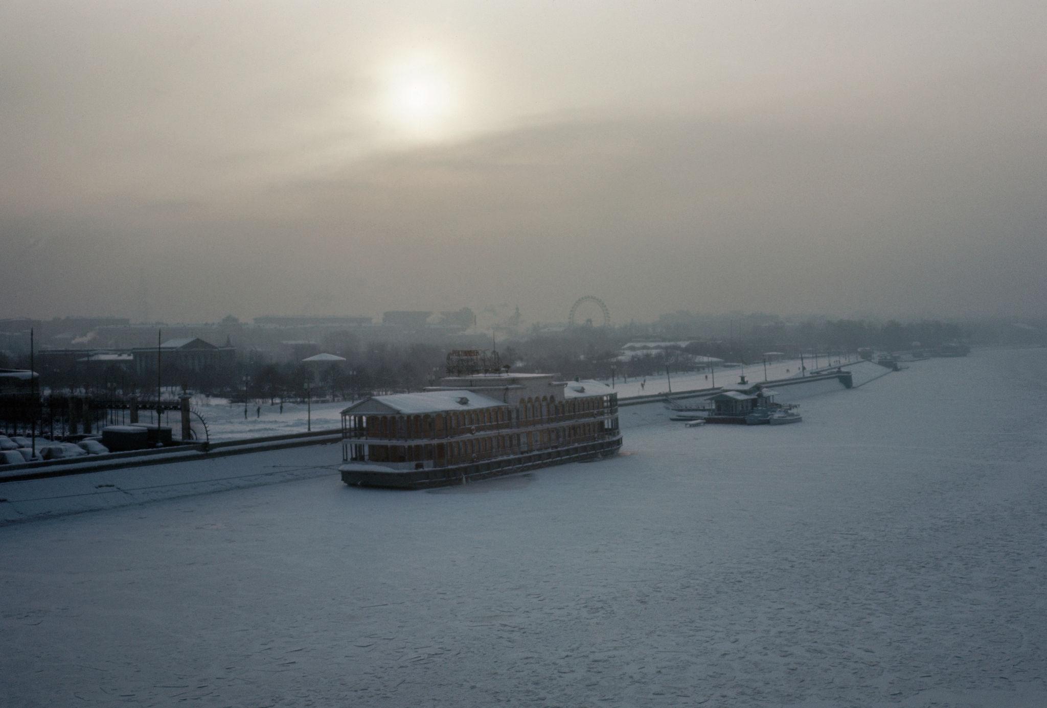 1964. Москва. Вид на парк Горького