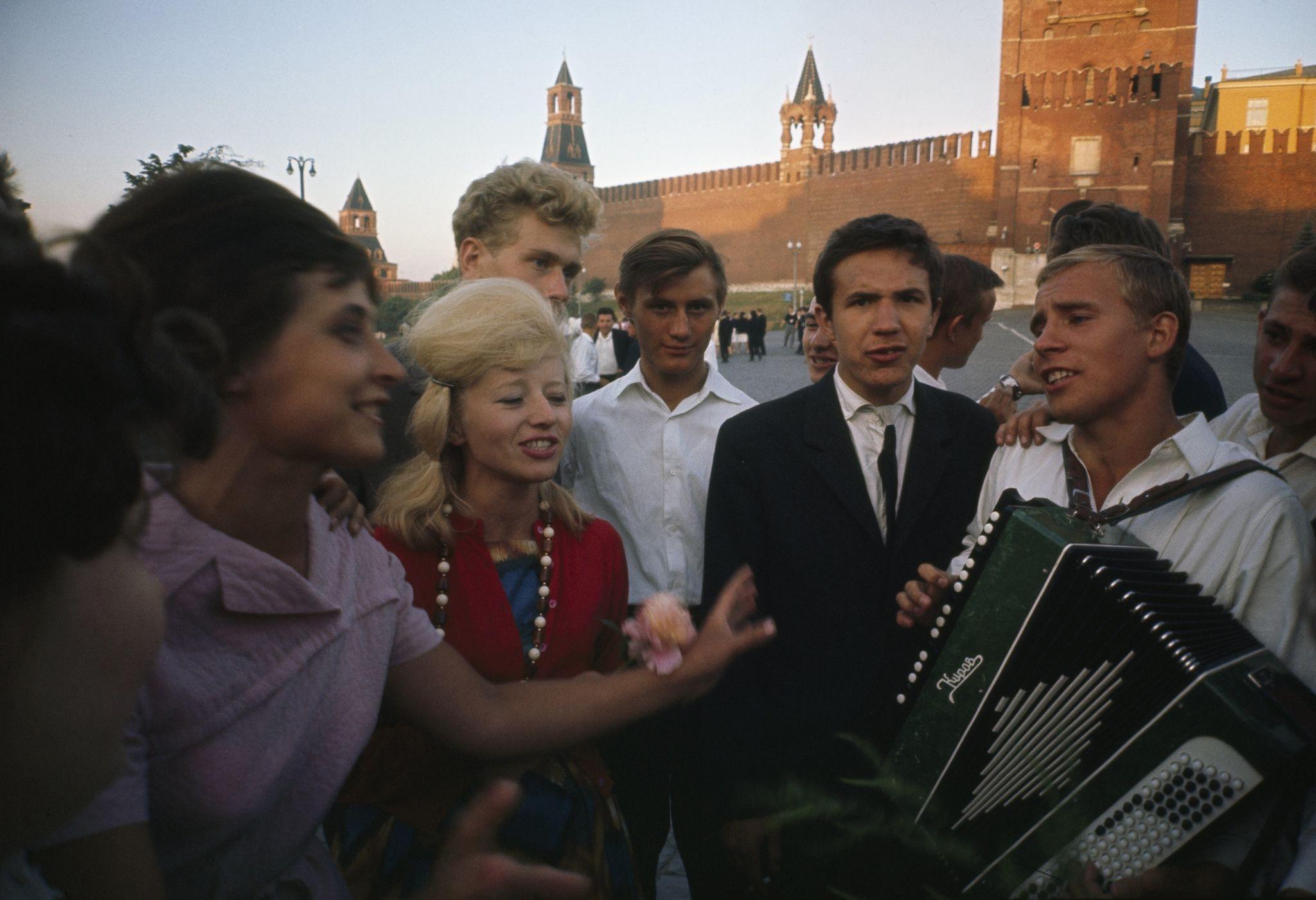 1964. Москва. На Красной площади