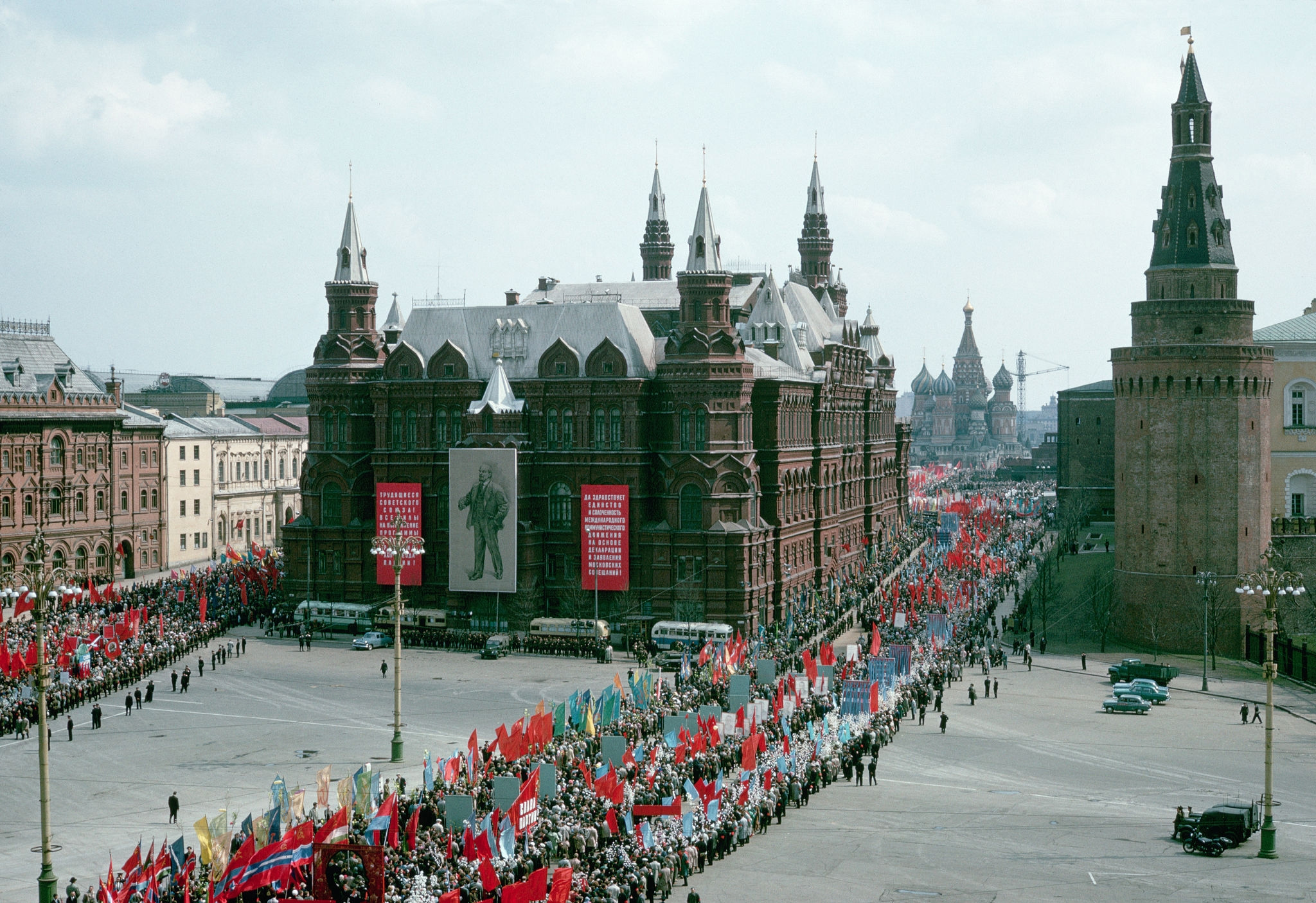 1964. Москва. Первомайская демонстрация